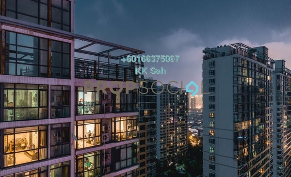 Serviced Residence For Sale in OUG Square, Old Klang Road Leasehold Semi Furnished 3R/2B 469k