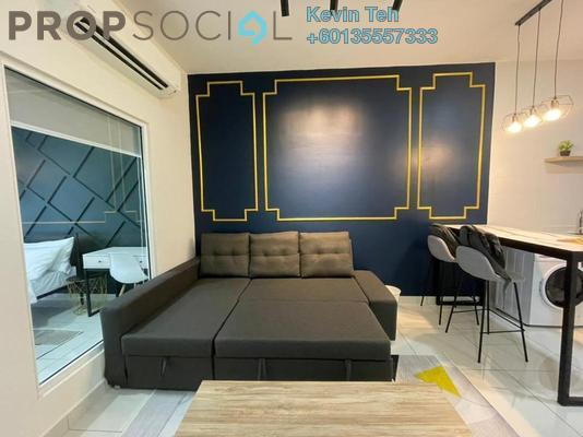 Condominium For Rent in Arte Mont Kiara, Dutamas Freehold Fully Furnished 1R/1B 2.5k