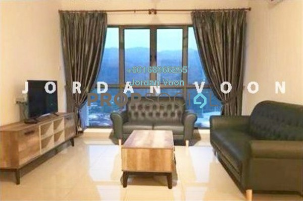 Condominium For Rent in Skycube Residence, Sungai Ara Freehold Fully Furnished 3R/2B 1.6k
