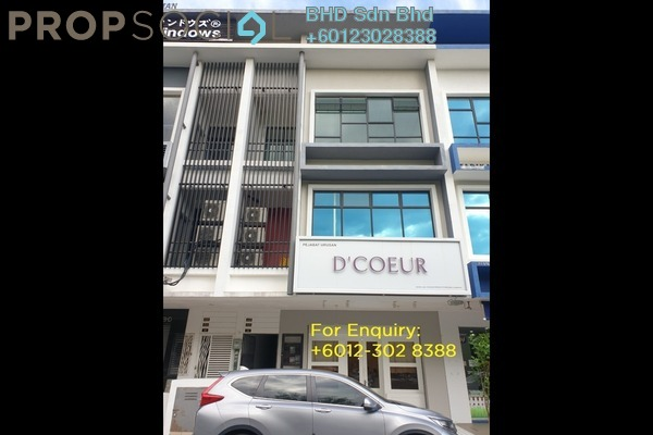 Shop For Rent in BP7, Bandar Bukit Puchong Freehold Unfurnished 0R/2B 1.2k