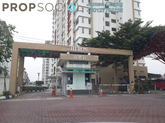Condominium For Sale in The Heron Residency, Puchong Freehold Semi Furnished 3R/2B 299k