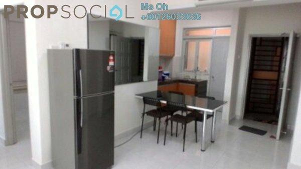 Condominium For Sale in Main Place Residence, UEP Subang Jaya Freehold Fully Furnished 2R/1B 380k