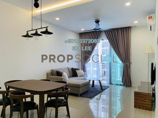 Condominium For Rent in Urbana Residences @ Ara Damansara, Ara Damansara Freehold Fully Furnished 3R/3B 3k