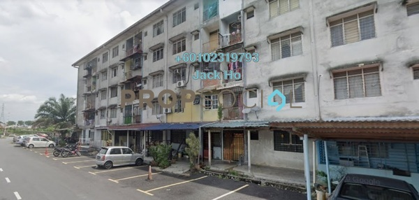 Apartment For Sale in Taman Sri Serdang, Seri Kembangan Freehold Unfurnished 3R/1B 133k