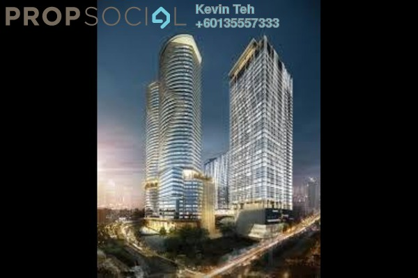 Office For Rent in KL Gateway, Bangsar South Freehold Semi Furnished 0R/0B 6k