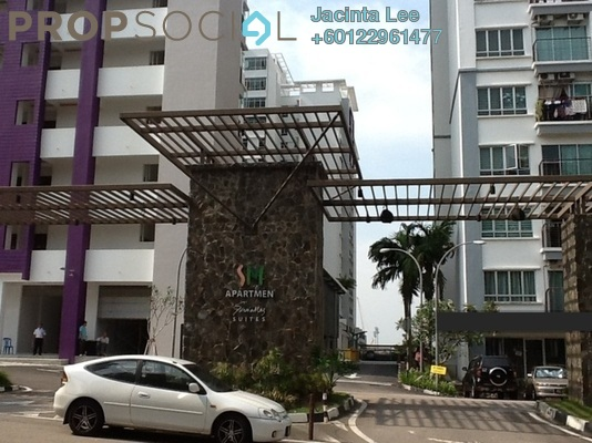 Condominium For Sale in SuriaMas Suites, Johor Bahru Freehold Unfurnished 3R/2B 373k
