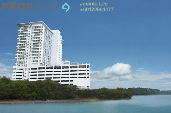 Serviced Residence For Sale in Bayu Marina, Johor Bahru Leasehold Semi Furnished 3R/2B 293k