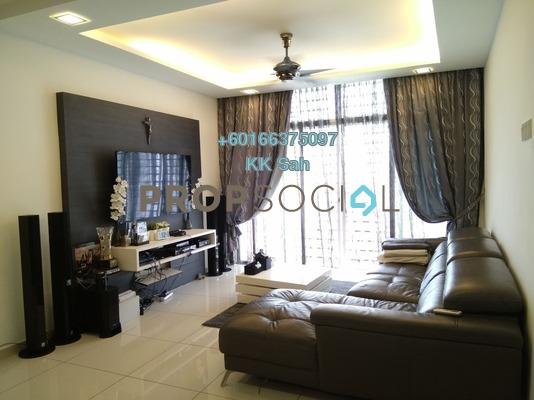 Condominium For Sale in Jalan Sungai Besi, Kuala Lumpur Leasehold Semi Furnished 3R/2B 480k