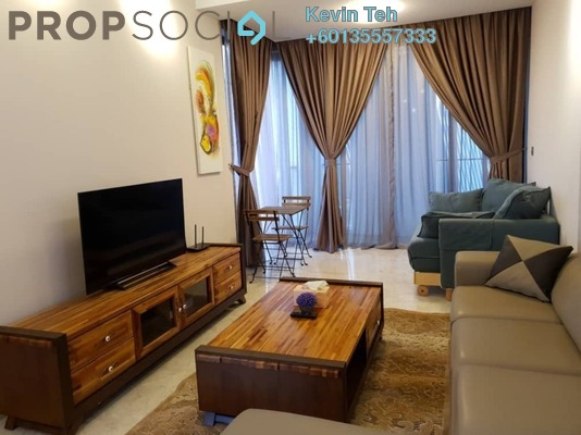 Condominium For Rent in Icon Residence (Mont Kiara), Dutamas Freehold Fully Furnished 1R/2B 4k