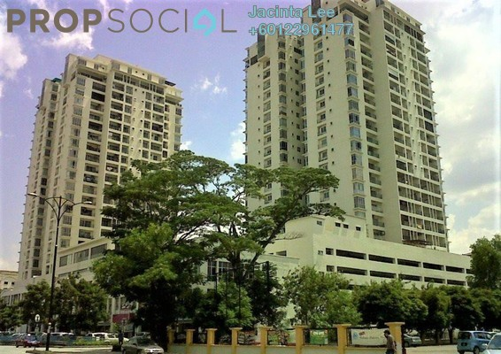 Condominium For Sale in Ampang Putra Residency, Ampang Leasehold Semi Furnished 4R/4B 416k
