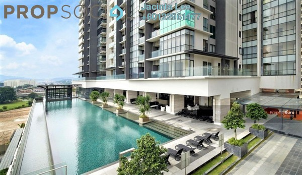 Serviced Residence For Sale in The Elements, Ampang Hilir Freehold Semi Furnished 1R/1B 369k