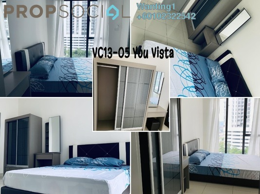 Condominium For Rent in You Vista @ You City, Batu 9 Cheras Freehold Fully Furnished 1R/1B 1.35k