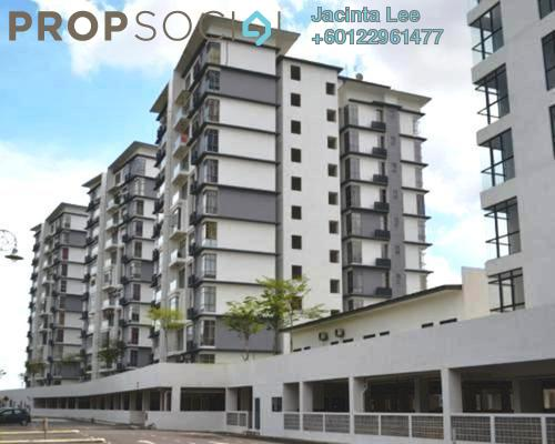 Apartment For Sale in Lakeview Residency, Cyberjaya Freehold Semi Furnished 3R/2B 351k