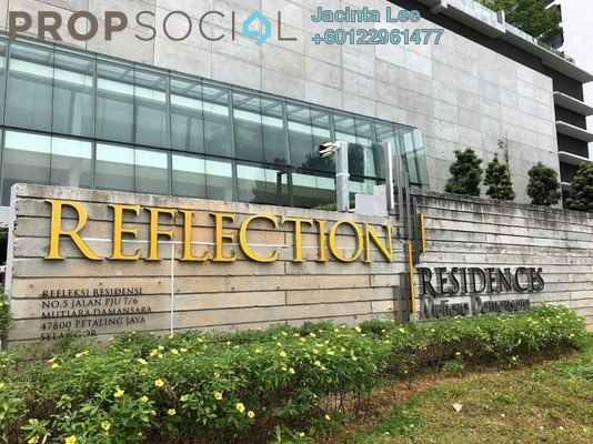 Serviced Residence For Sale in Reflection Residences, Mutiara Damansara Freehold Semi Furnished 3R/2B 810k
