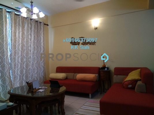 Condominium For Sale in Taman Bukit Cheras, Cheras Freehold Fully Furnished 3R/2B 369k