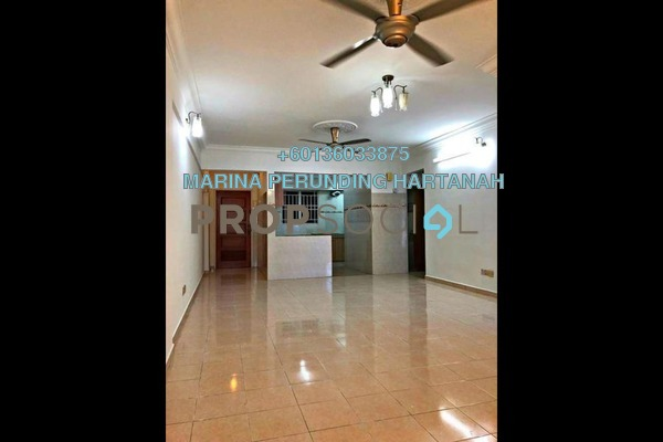 Condominium For Sale in Warisan Cityview, Cheras Freehold Semi Furnished 3R/2B 490k