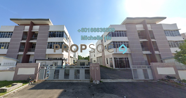 Factory For Sale in i-Parc @ Tanjung Pelepas, Johor Bahru Freehold Semi Furnished 0R/0B 1.68m