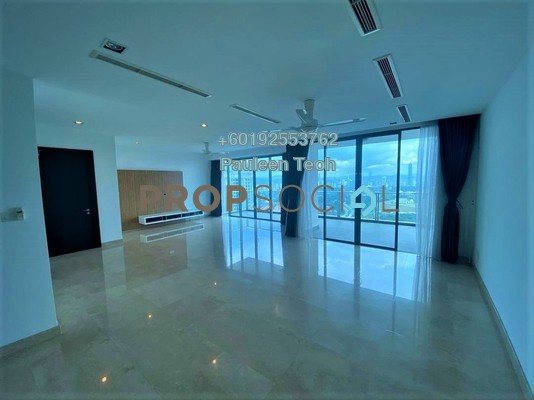 Condominium For Rent in 11 Mont Kiara, Mont Kiara Freehold Semi Furnished 3R/3B 8.5k