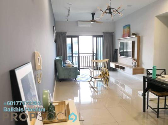 Serviced Residence For Rent in Suria Residence, Bukit Jelutong Freehold Fully Furnished 2R/2B 1.7k