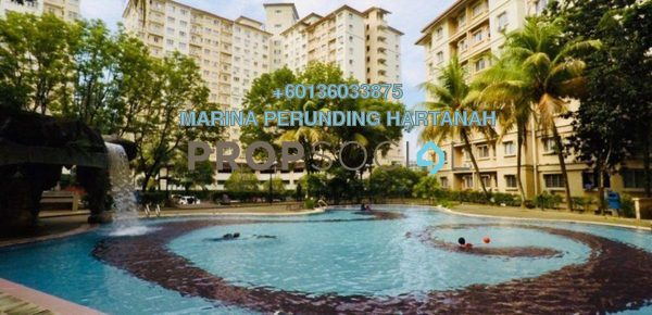 Condominium For Sale in Oakleaf Park, Bukit Antarabangsa Freehold Fully Furnished 3R/2B 275k