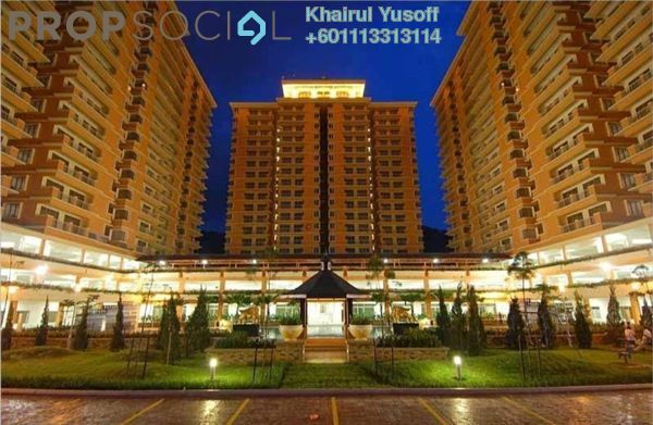 Condominium For Sale in Platinum Hill PV6, Setapak Freehold Unfurnished 4R/2B 440k