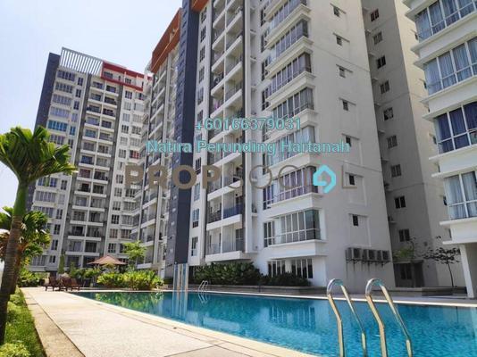 Condominium For Sale in 7 Tree Seven Residence, Bandar Sungai Long Freehold Semi Furnished 3R/2B 385k