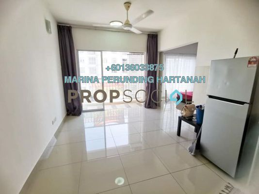 Apartment For Sale in Gaya, Melawati Freehold Unfurnished 1R/1B 360k