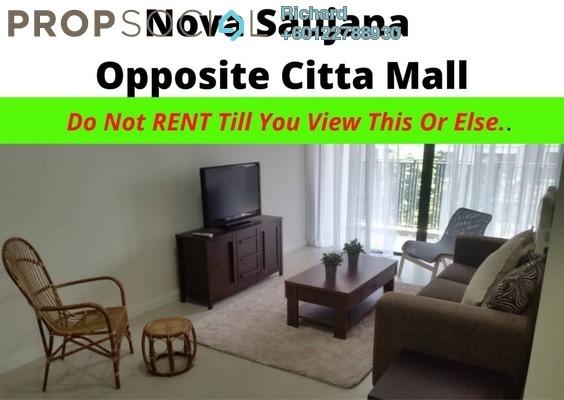 Serviced Residence For Rent in Nova Saujana, Saujana Freehold Fully Furnished 3R/3B 2.5k