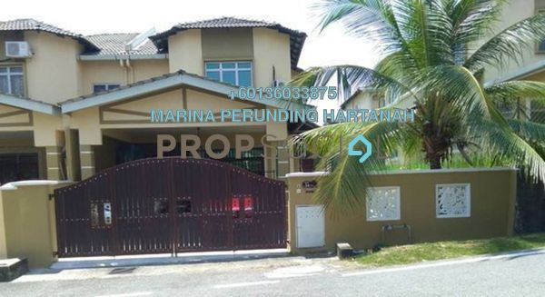 Semi-Detached For Sale in Taman Dahlia, Sepang Freehold Semi Furnished 4R/3B 695k