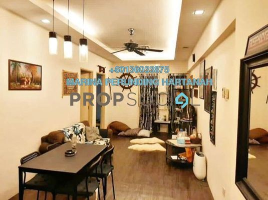 Apartment For Sale in Spring Ville, Ukay Freehold Fully Furnished 3R/2B 298k