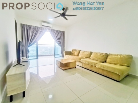 Serviced Residence For Rent in Symphony Tower, Balakong Freehold Fully Furnished 3R/2B 1.65k