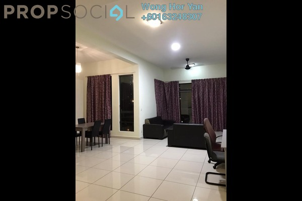 Serviced Residence For Sale in The Z Residence, Bukit Jalil Freehold Fully Furnished 3R/2B 665k