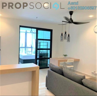 Condominium For Rent in H2O Residences, Ara Damansara Freehold Fully Furnished 1R/1B 1.6k