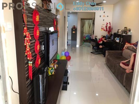 Terrace For Sale in Taman Lestari Putra, Bandar Putra Permai Freehold Semi Furnished 3R/2B 410k