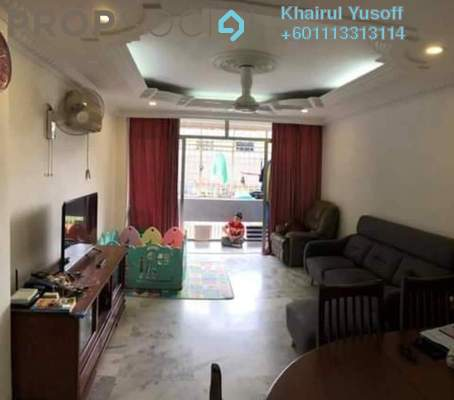 Apartment For Sale in Bustan Apartment, Cheras Freehold Semi Furnished 3R/2B 340k