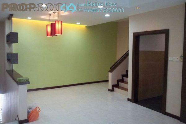 Terrace For Sale in Parkville Garden Townhouse, Sunway Damansara Leasehold Semi Furnished 3R/4B 900k