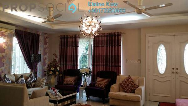 Bungalow For Sale in Alam Sutera, Bukit Jalil Freehold Semi Furnished 5R/6B 1.85m