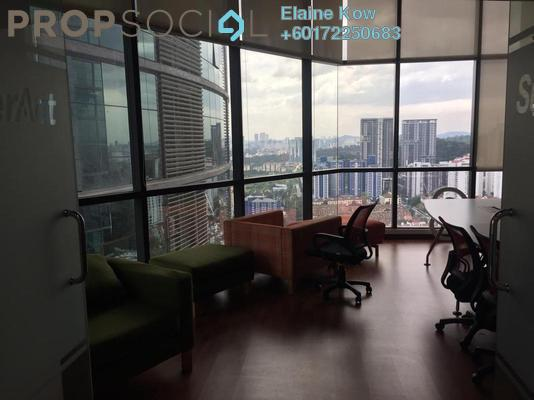 Office For Rent in The Vertical, Bangsar South Freehold Fully Furnished 0R/0B 20.6k