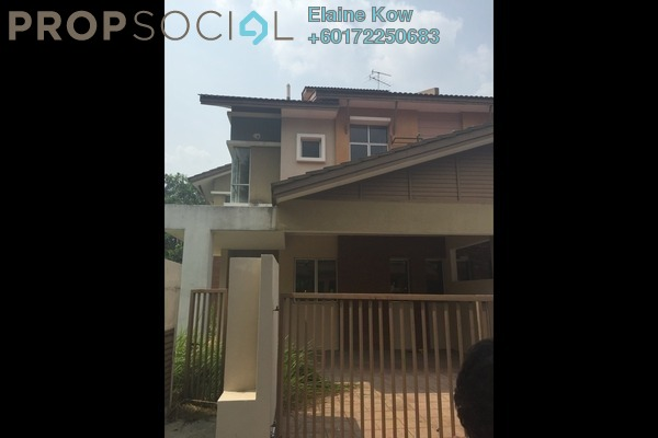 Terrace For Sale in BP14, Bandar Bukit Puchong Freehold Semi Furnished 5R/4B 1.08m