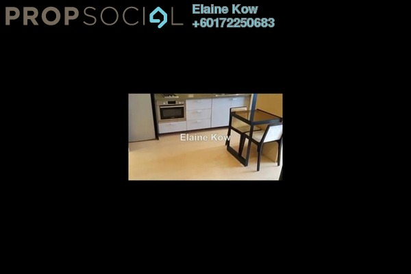 Condominium For Rent in VERVE Suites, Mont Kiara Freehold Semi Furnished 1R/1B 2.5k