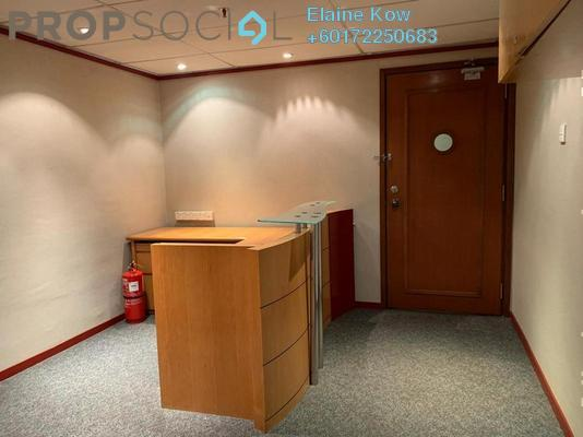 Office For Rent in Plaza 138, KLCC Freehold Semi Furnished 0R/0B 4.8k