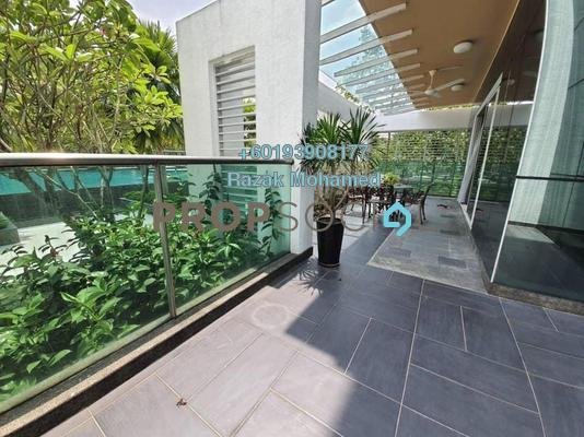Condominium For Rent in Surian Residences, Mutiara Damansara Freehold Fully Furnished 4R/4B 5k
