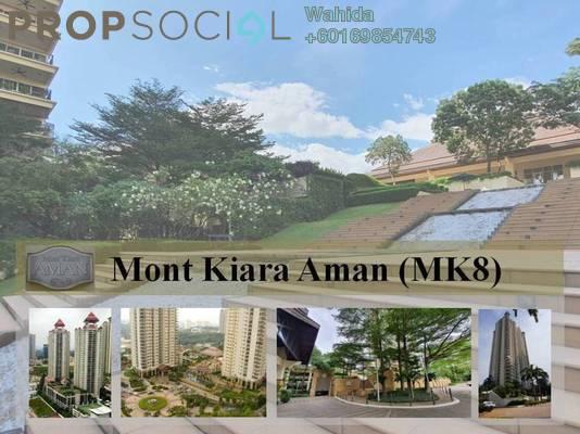 Condominium For Rent in Mont Kiara Aman, Mont Kiara Freehold Fully Furnished 4R/3B 7.5k