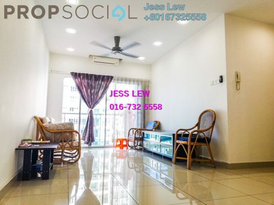 Condominium For Sale in OUG Parklane, Old Klang Road Freehold Semi Furnished 3R/2B 489k
