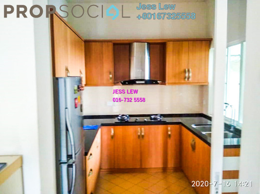 Condominium For Sale in Desa Impiana, Puchong Freehold Semi Furnished 3R/2B 380k