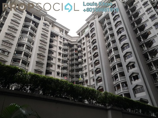 Condominium For Rent in The Forum, KLCC Freehold Semi Furnished 3R/2B 2.5k