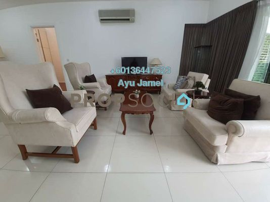 Serviced Residence For Rent in Surian Residences, Mutiara Damansara Freehold Fully Furnished 3R/3B 6k