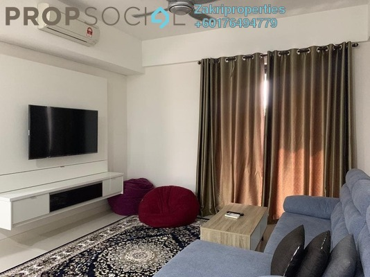 Condominium For Rent in Radia Residences, Bukit Jelutong Freehold Fully Furnished 2R/2B 2k