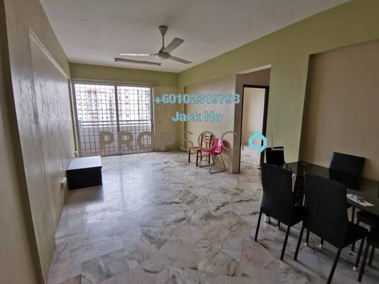 Apartment For Rent in Seri Pinang Apartment, Seri Kembangan Freehold Semi Furnished 3R/2B 1k