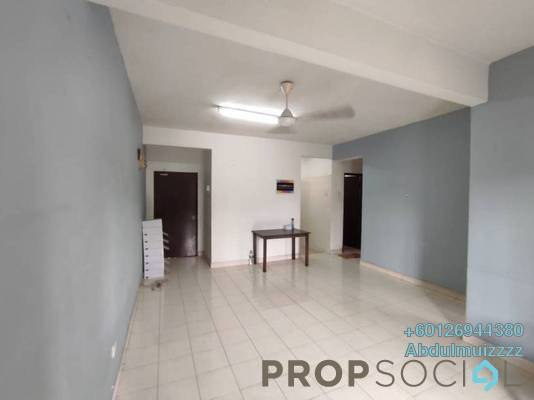 Apartment For Rent in Baiduri Apartment, Shah Alam Freehold Semi Furnished 3R/2B 1.1k